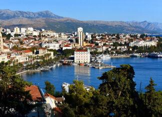 Split w Chorwacji