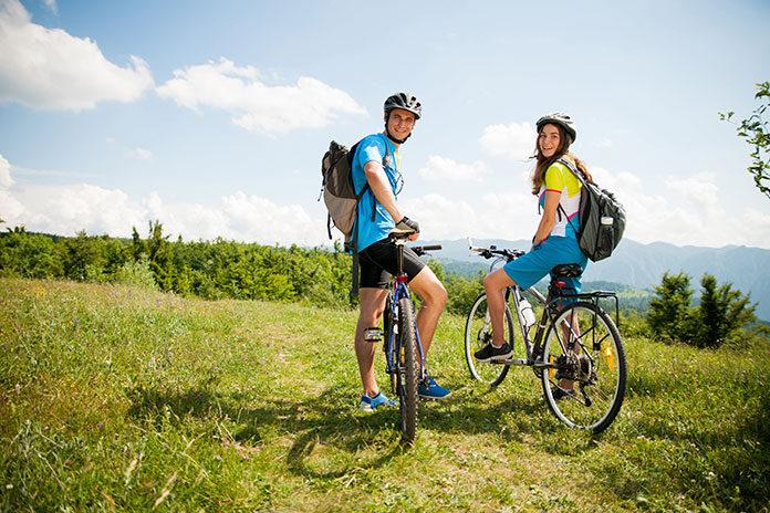 Gadżety odblaskowe na rower