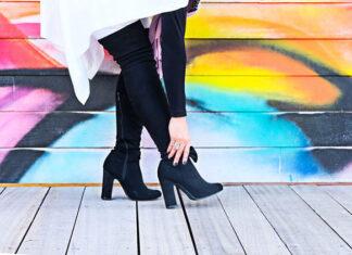 skórzane obuwie