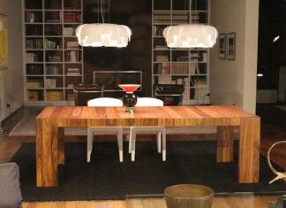 Lampa stołowa do salonu